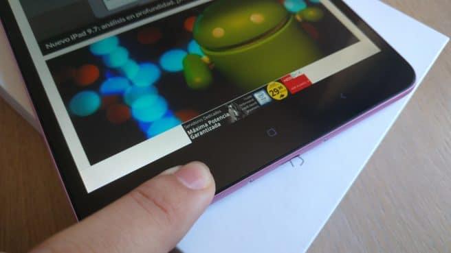 tablet mi Pad 2 Android botonera tactil