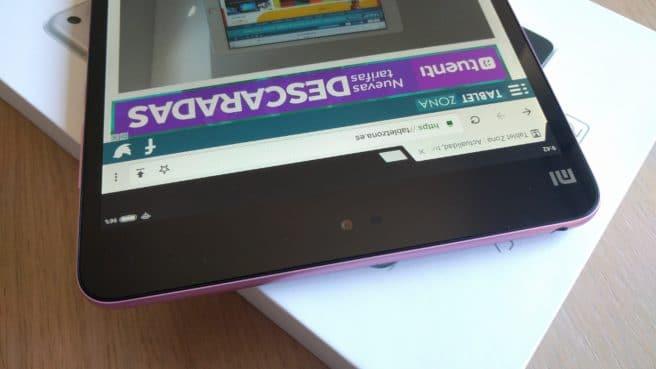 tablet mi Pad 2 Android camara frontal