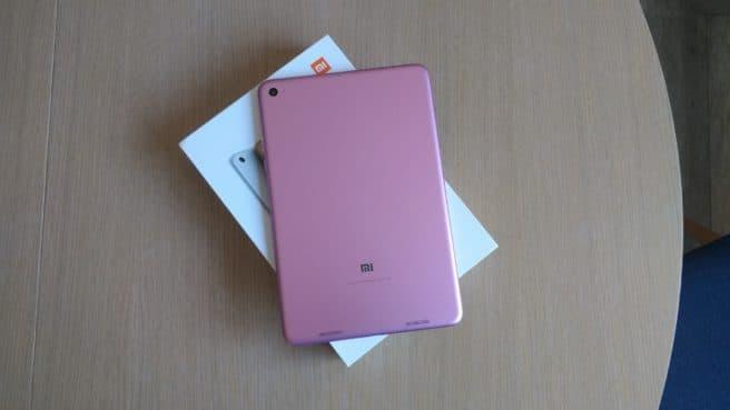 tablet mi Pad 2 Android con su caja