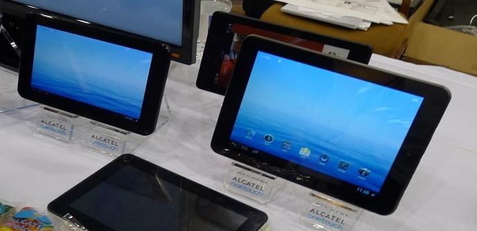 alcatel tablets modelos
