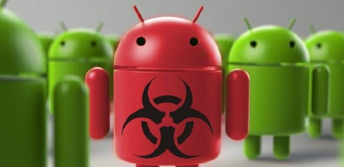 android virus imagen