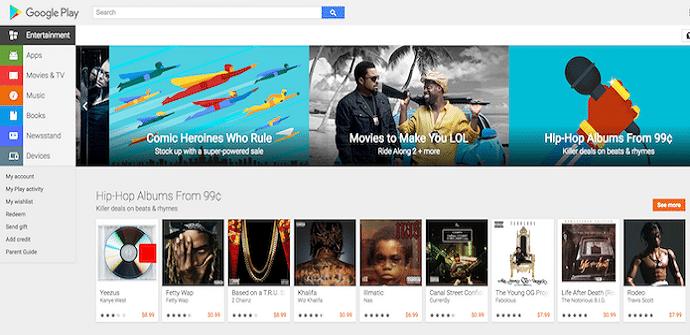 google play escritorio