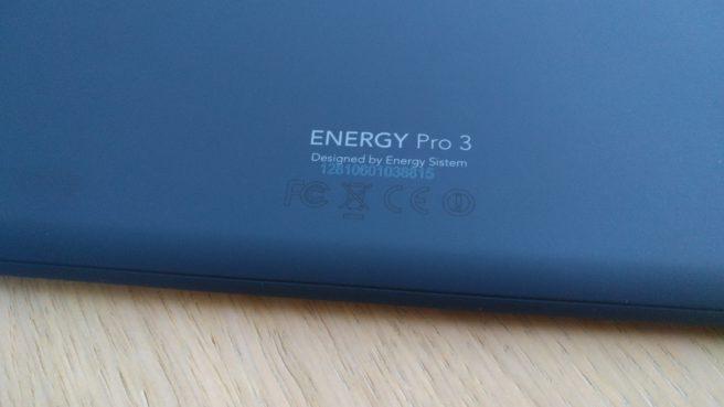 Tableta Energy Pro Android certificados