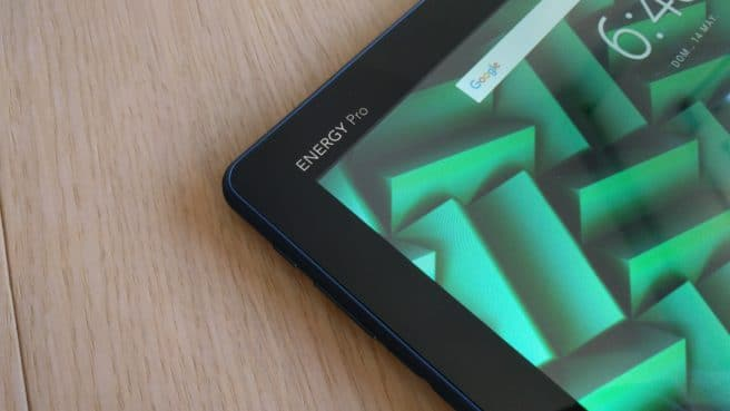 Tableta Energy Pro Android logo frontal