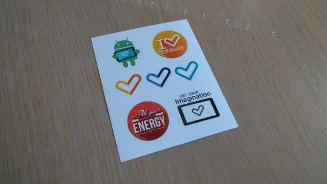 Tableta Energy Pro Android sellos