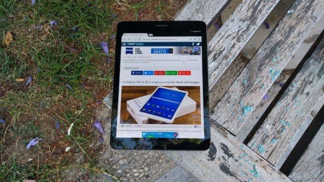 Samsung Tab S3 con Android analisis del tablet