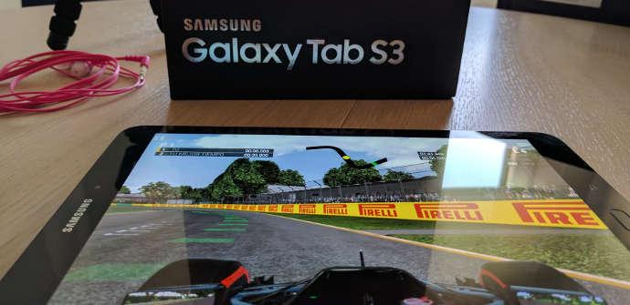 Galaxy Tab S3 gaming test