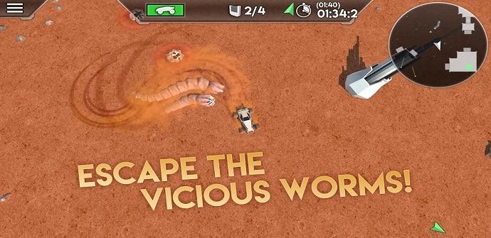 desert worms escenario