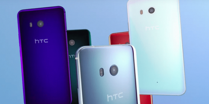 HTC u11 phablet