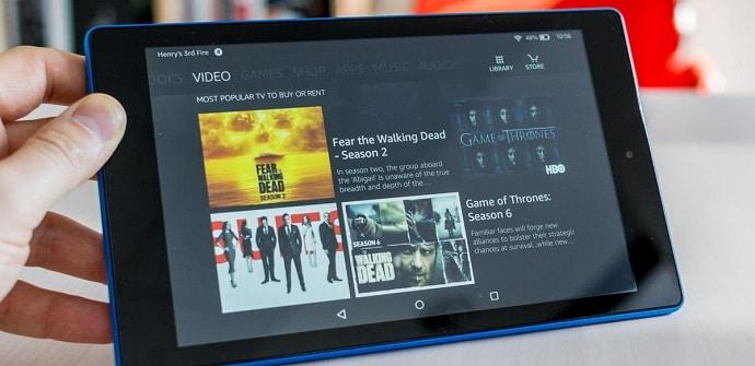 nuevas Fire tablets compactas
