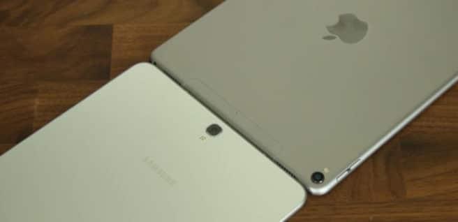 Comparativa en vídeo iPad Pro 10.5 vs Galaxy Tab S3