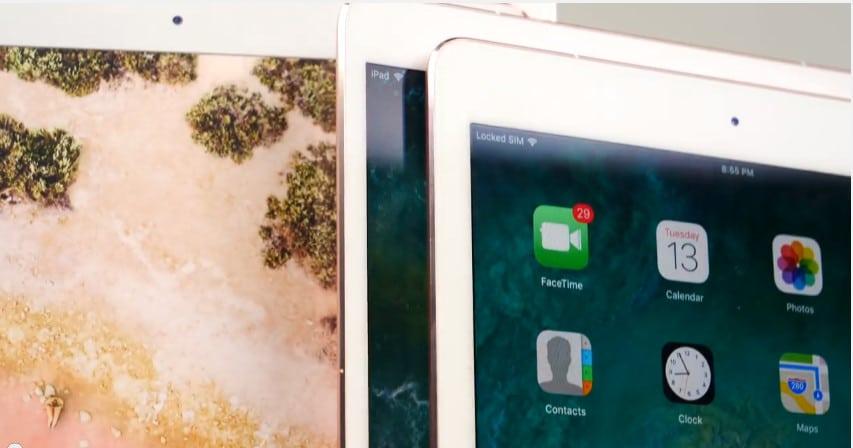 comparativa modelos iPad