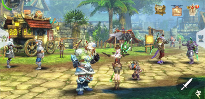 mejores mmorpg android ipad
