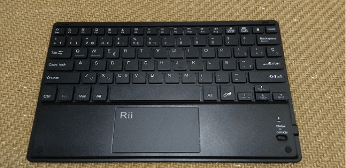rii teclado negro