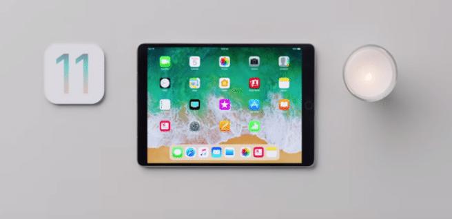 vídeos de Apple sobre el iPad con iOS 11