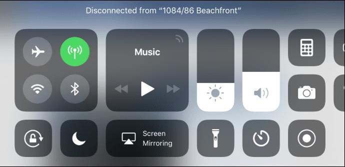 wifi bluetooth ios 11