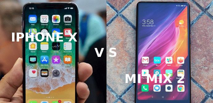 comparativa iphone xiaomi