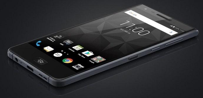 blackberry móvil pantalla