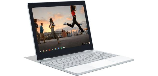 google pixelbook pantalla