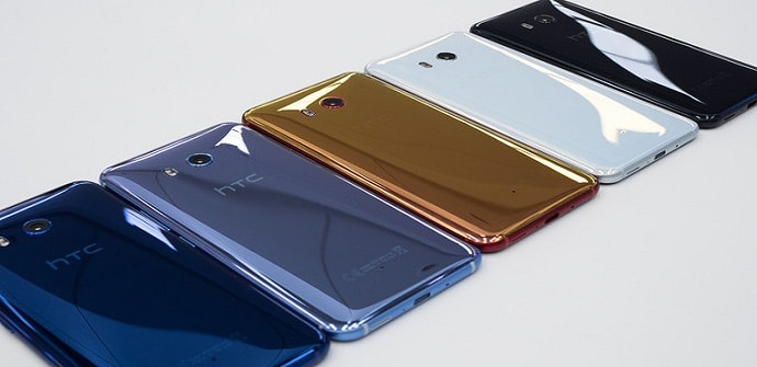 móviles grandes htc u11 plus