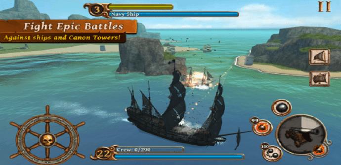 ships of battle escenario