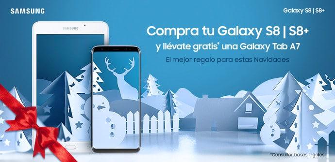 promoción galaxy s8