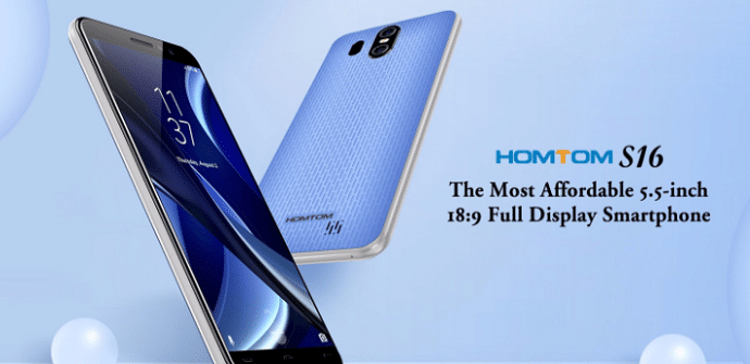 moviles chinos homtom s16