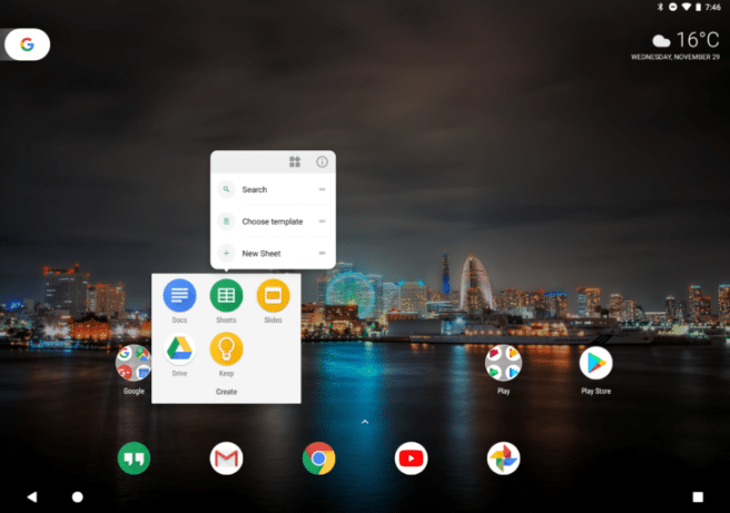 android 8.1 tablets