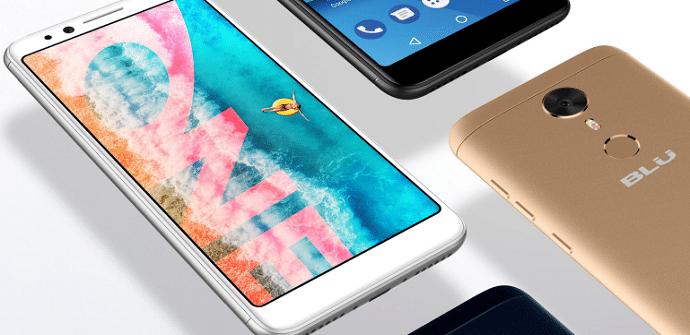 nuevos móviles blu