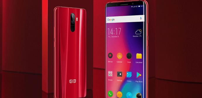 móviles chinos elephone u8