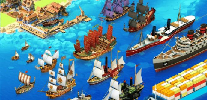 seaport barcos