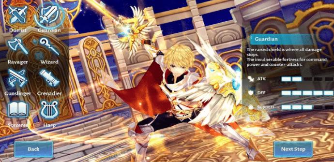 aura kingdom escenario