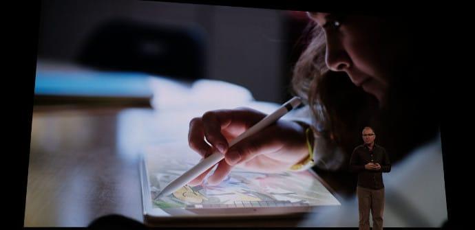 iPad y su Apple Pencil
