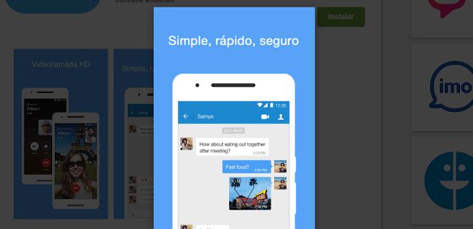 apps de mensajería BOTIM