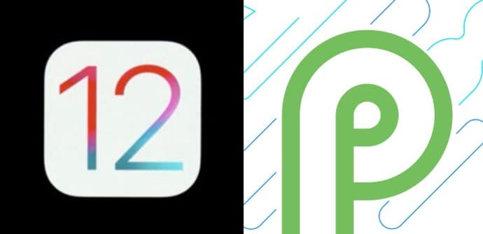 ios 12 vs android p
