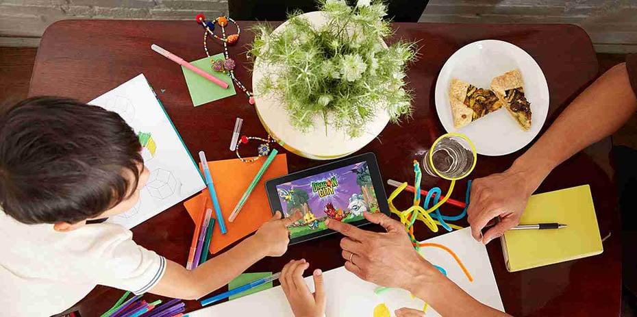 El mejor tablet para niños