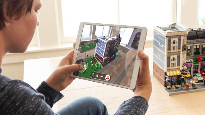iOS 12 con Lego AR