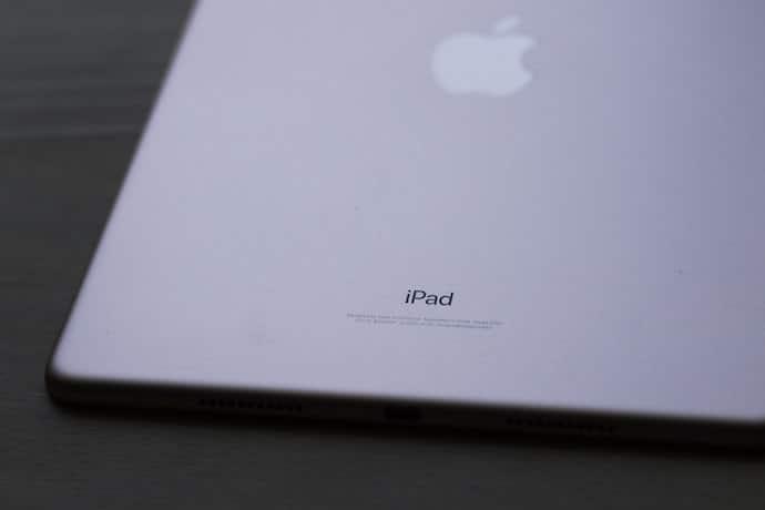 Espalda del iPad Pro
