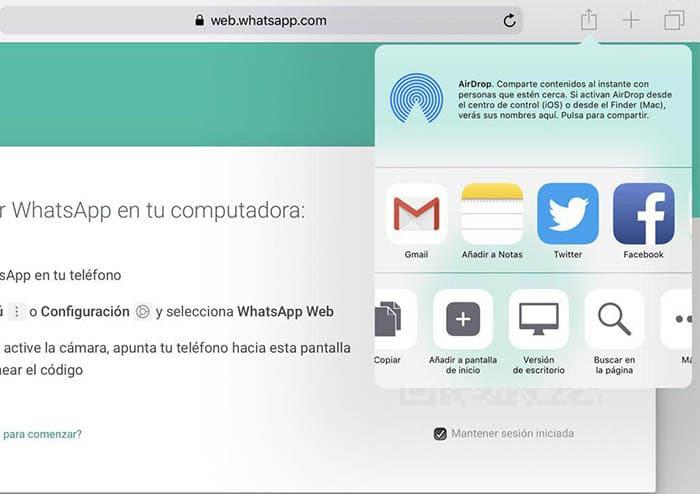 Instalar WhatsApp en el iPad