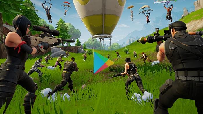 APK Fornite Google Play