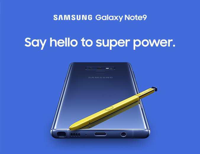 Anuncio del Galaxy Note 9