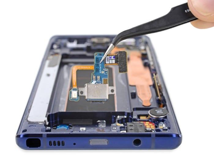 Galaxy Note 9 despiece