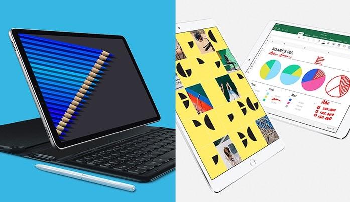 Galaxy Tab S4 vs iPad Pro