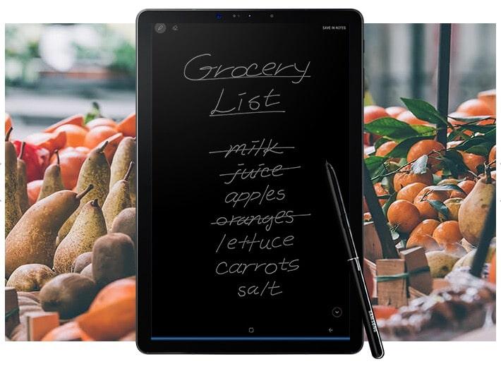 Samsung Galaxy Tab S4 con S Pen