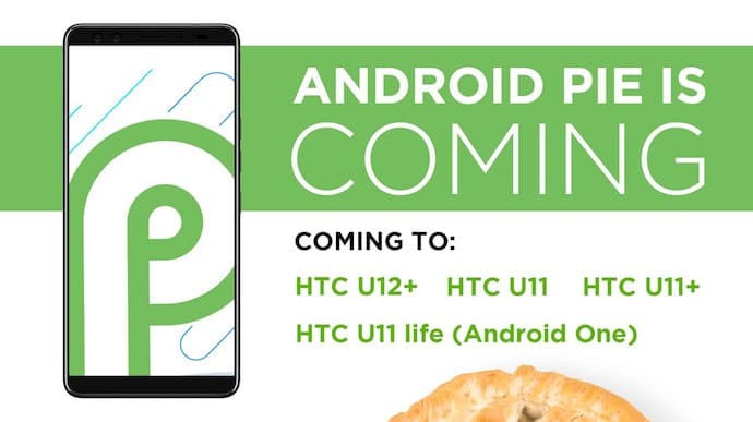 HTC con Android Pie