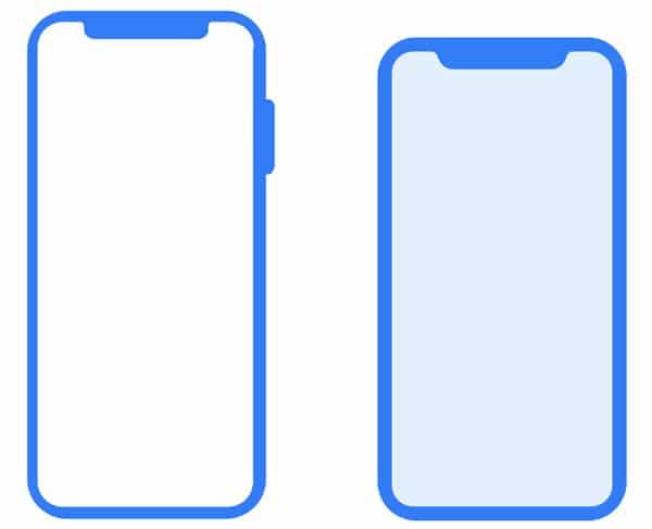 Comparación iPhone X y iPhone X Plus