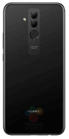 Huawei Mate 20 lite en negro
