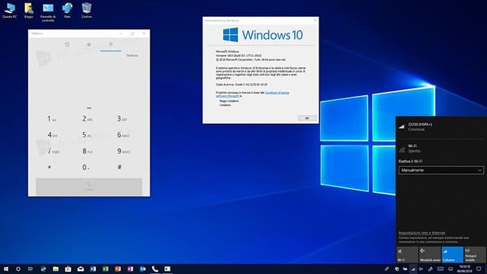 Hacer llamadas desde Windows 10