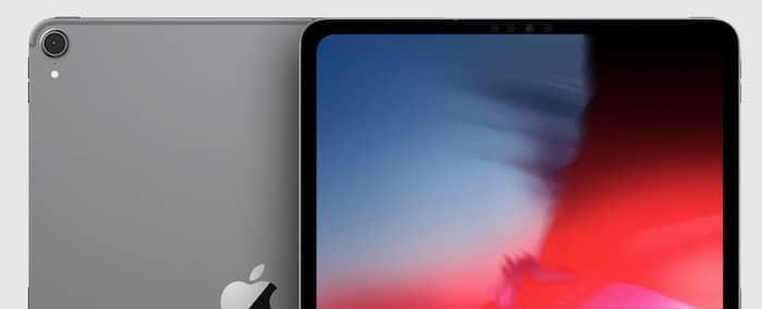 Recorte iPad Pro 2018