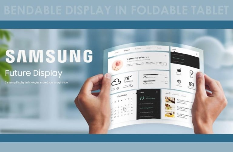 Tablet plegable Samsung